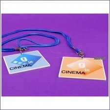 Acrylic Plexiglas Badge G In Cinema