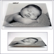 Acrylic Plexiglas Photo Frame Bebe