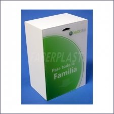 Display Cube Methacrylate-plexiglas Xbox