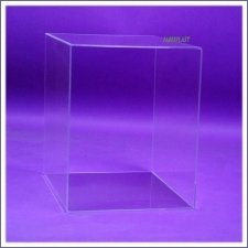Acrylic Plexiglas Two Open Sides