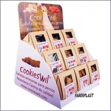 Acrylic Plexiglas Stand Display Cookieswil
