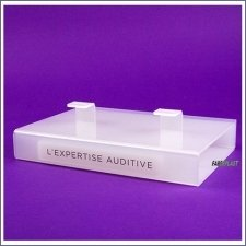 Acrylic Plexiglas Display Exhibitor Hearing Aid