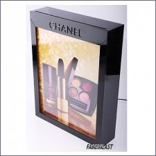 Acrylic Plexiglas Display Exhibitor Leds Chanel