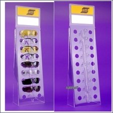 Acrylic Plexiglas Display Exhibitor Glasses Esab