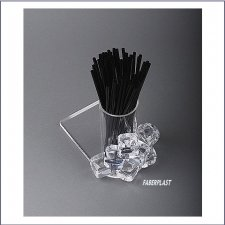 Acrylic Plexiglas Display Straws