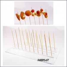 Acrylic Plexiglas Display Brochette