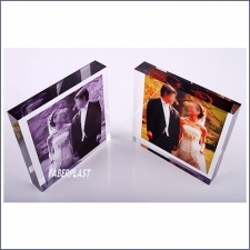 Acrylic Plexiglas Block Wedding Digital Printing