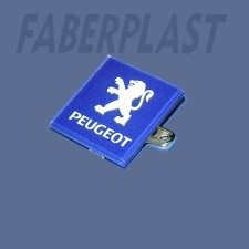 Badge Methacrylate (plexiglas-pmma) Peugeot