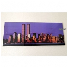 Acrylic Plexiglas Photo Frame New York