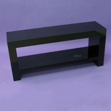 Perspex Black Table TV