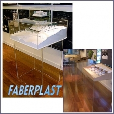 Acrylic Plexiglas Lid Cover Model-support