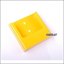Brochure Holder Acrilic Yellow A5 Wall