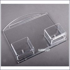 Acrylic Plexiglas Brochure Holder Duo Card