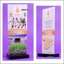 Acrylic Plexiglas Trophy Real Madrid