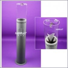 Acrylic Plexiglas Urn Events Cylindrical
