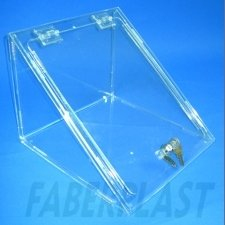 Acrylic Plexiglas Urn Triangular Exhibition
