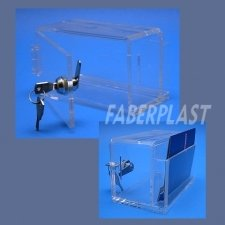 Acrylic Plexiglas Urn Showcase Mini