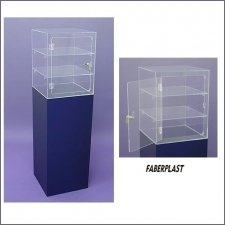 Showcase Methacrylate (plexiglas-pmma) Satin Blue