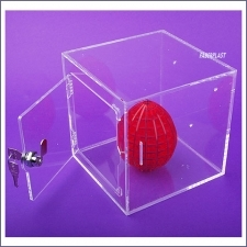 Acrylic Plexiglas Showcase Small Format