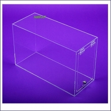 Acrylic Plexiglas Showcase Elongated