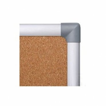 Whiteboards and cork boards